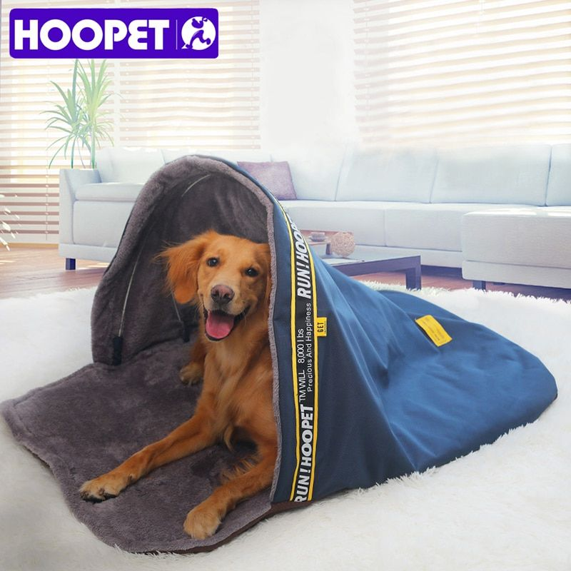 HOOPET Large Dog Bed Pet Sleeping Bag Cat Bed Small Dogs Kennel Sofa House Puppy Cave Bed Warm Nest High Quality