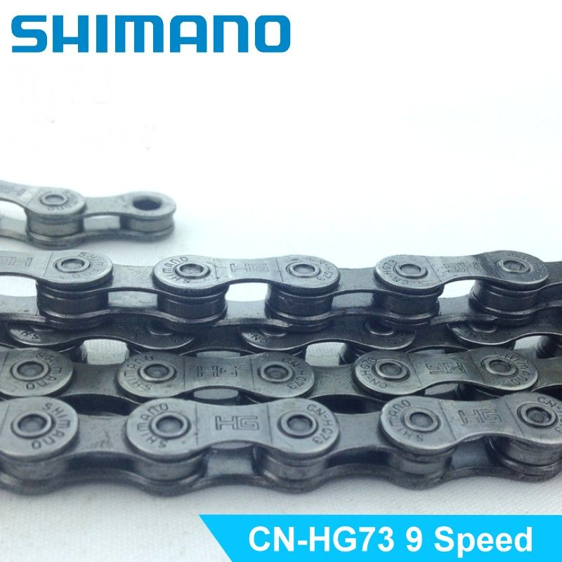 Shimano CN-HG73 9 Speed 116 Links HG 73 Bike Bicycle Cycling Chain IG51 7/8 Speed Mountain Bike Chain Deore LX 105