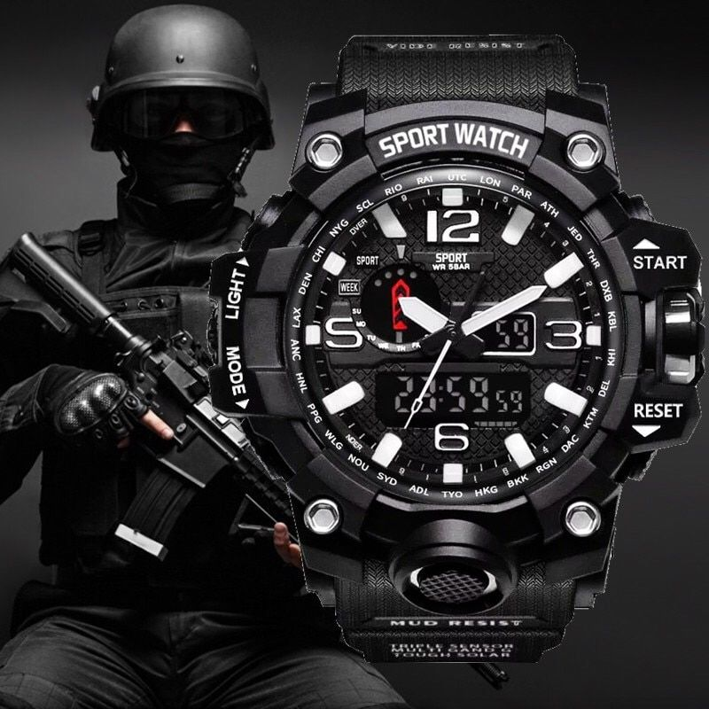 G style Shock Watches Men Military Army Mens Watch Reloj Led Digital Sports Wristwatch Male Gift Analog Automatic Watches Male