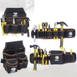 Быстрый выбор работы поясная сумка для хранения инструментов электрик плотник Контрактор техников сумка для инструментов карман