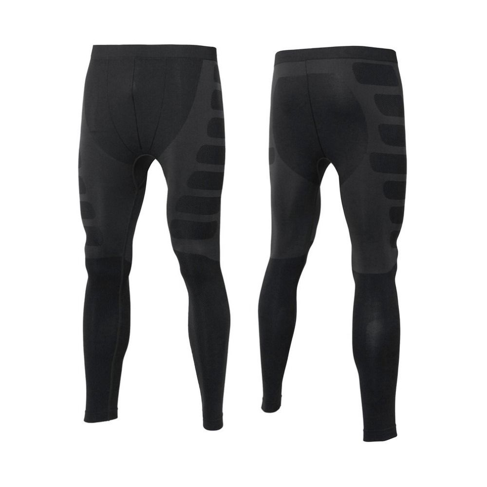 Yuerlian Men Compression Tight Long Pants Yoga Sports Bodybuilding Trousers Quick Drying Fitness Skinny Leggings Free Shipping