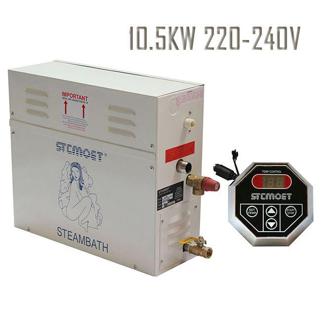 Freies verschiffen Ecnomic modell KW 220-240 V Dampferzeuger Sauna Bad Dampfer mit ST-135 Controller dampfbad Zubehör