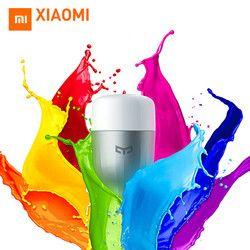 En Stock D'origine Xiaomi Yeelight Bleu II LED Smart Ampoule (couleur) E27 9 W 600 Lumens Mi Lumière Téléphone Intelligent WiFi Télécommande