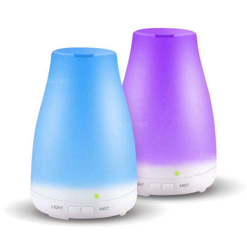 Brume fraîche de diffuseur d'huile d'aromathérapie d'humidificateur ultrasonique avec le LED de couleur allume le diffuseur d'huile essentielle arrêt automatique sans eau
