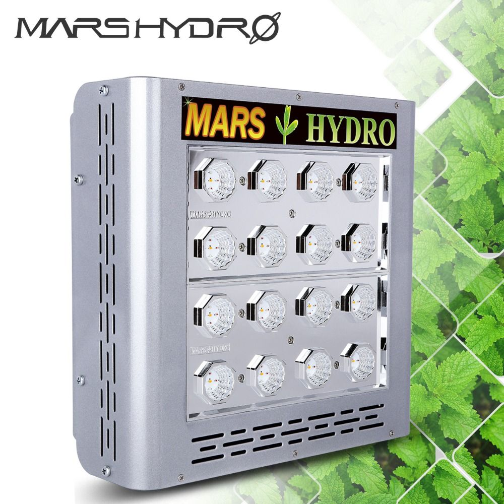 Mars Pro II Epistar 400W LED Grow Light Panel Hydroponics Full Spectrum Veg Flower Indoor Plants Stock in US,CA,DE,UK,AU