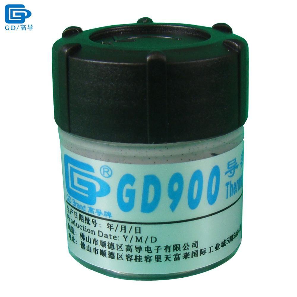 GD Marque Conducteur Thermique Pâte de Graisse Silicone GD900 Radiateur Composé Net Poids 30 Grammes Haute Performance Gris Pour CPU CN30