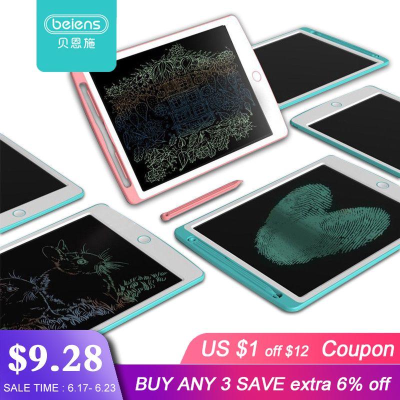 Beiens 8.5-10 pouces LCD dessin tablettes jouets écriture Pad début éducatif planche à dessin pour enfants écriture conseil enfant cadeau