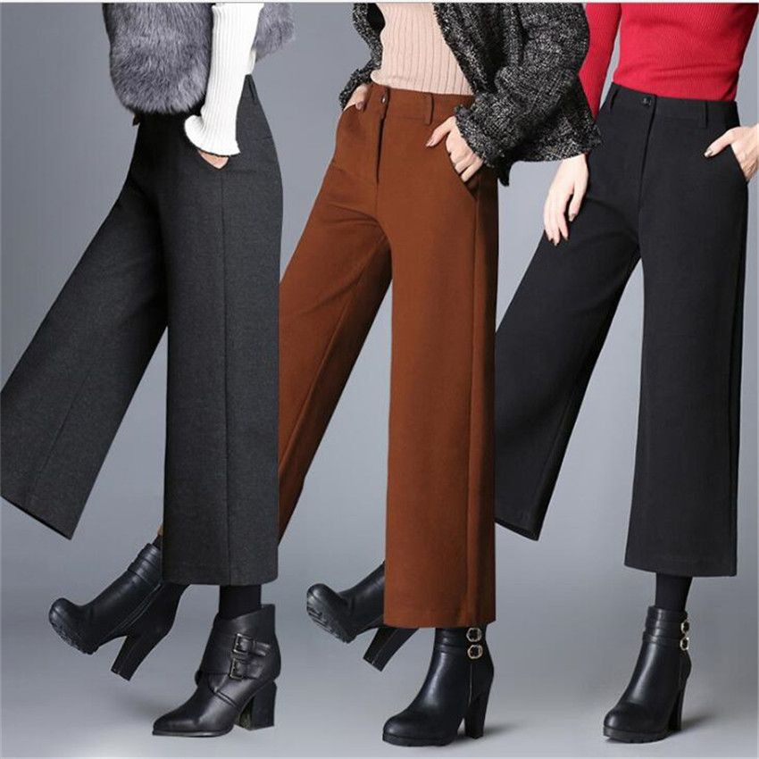 MLCRIYG 2018 New fashion Corduroy loose Big size women's clothes Haren trousers lw006