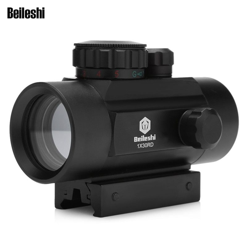 Outlife Jagd Optics Scope 1X30 Holographic Zielfernrohr Rot Grün Dot Taktischen Anblick 20mm Air Zielfernrohr Für jagd Airsoft