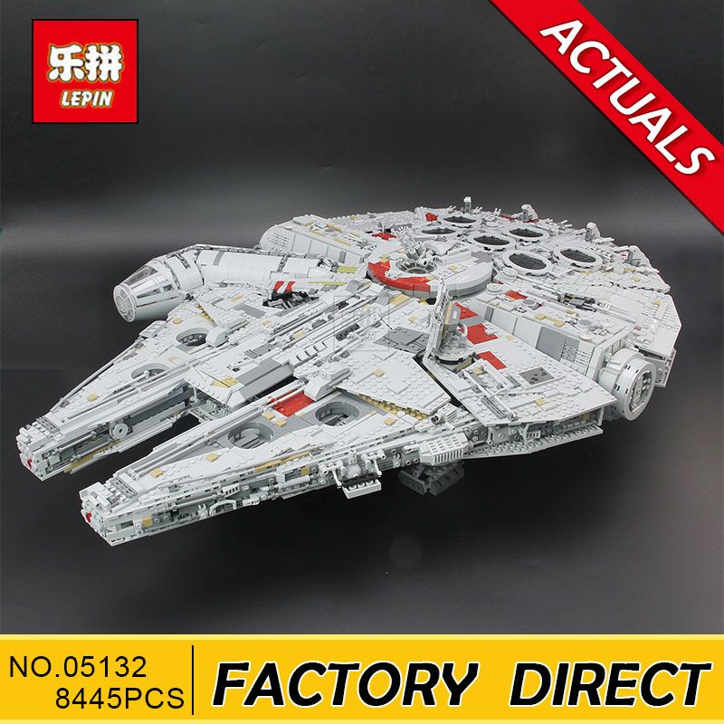 Lepin 05132 Star Plan Series 8445PCS The Ultimate Collector's Destroyer Set 75192 Building Blocks Bricks Christmas Gift Kid Toys