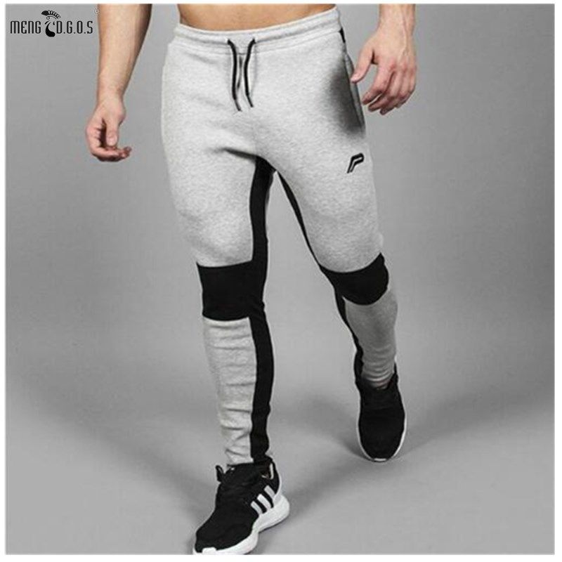2018 Men's Jogger Brand Casual Pants Fitness Men's Trousers Muscle Brothers <font><b>Exercise</b></font> Men's Pants Men's Pants Fitness trousers