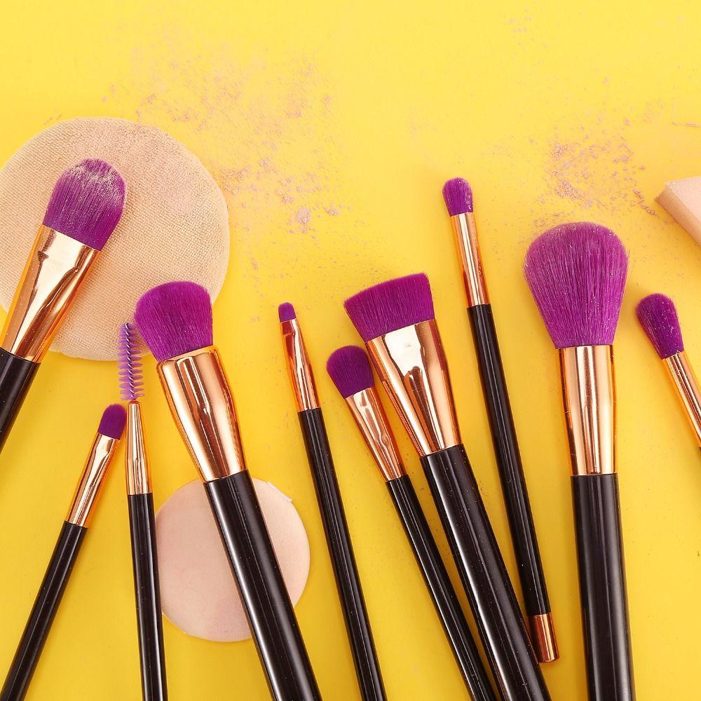 15pcs Makeup Brushes Soft Hair Makeup Brush Pro Cosmetic Blending Contour Eyebrow Foundation Kabuki Make-up Brush
