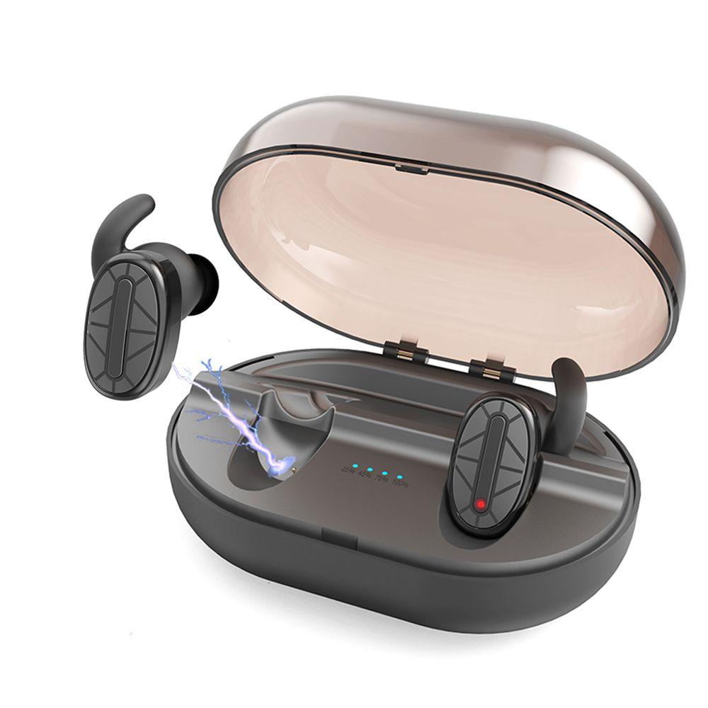 Sanwo Wireless Earbuds Bluetooth earphone mini Waterproof Stereo Earphones Sports Headphone W/ 900mA Charger Case MIC for phone