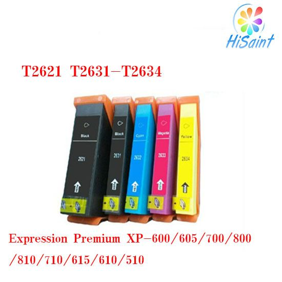 ink cartridge compatible Epson T2601 T2611 T2612 T2613 T2614  for Expression Premium XP-600/605/700/800/810/710/615/610/510