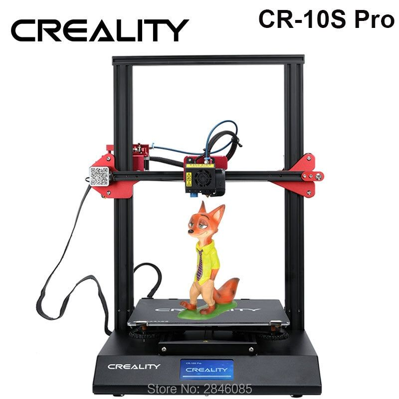 CREALITY 3D Auto Nivellierung CR-10S Pro Drucker Touch LCD Doppel Extrusion Lebenslauf Druck Filament Erkennung Funtion