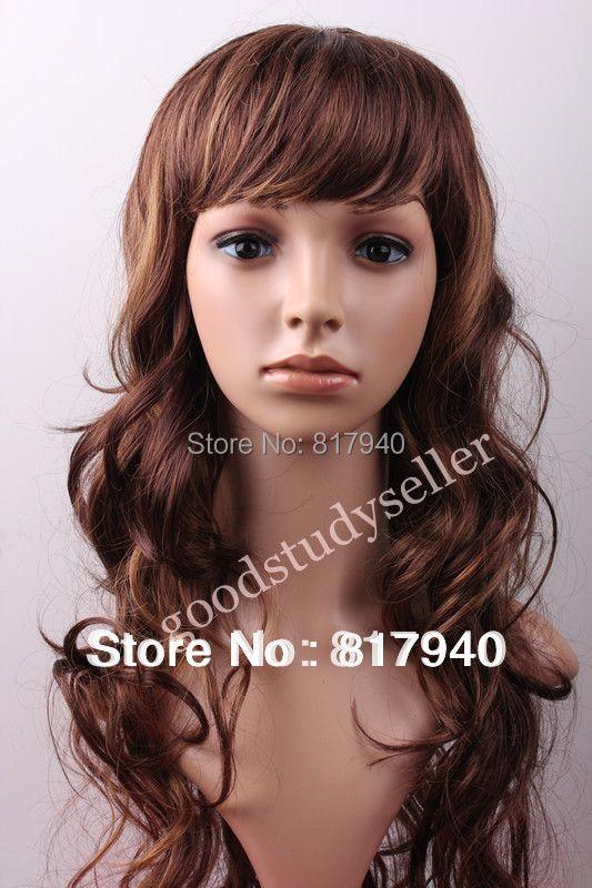 Offre spéciale! tête factice de Mannequin femme en plastique réaliste de haute qualité avec des cheveux pour chapeau et lunettes de soleil et masque de bijoux