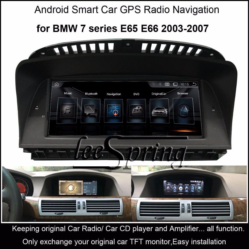 8,8 zoll Auto Multimedia-Player für BMW 7 serie E65 E66 2003-2007 GPS Navigation MP5 Bluetooth Wifi