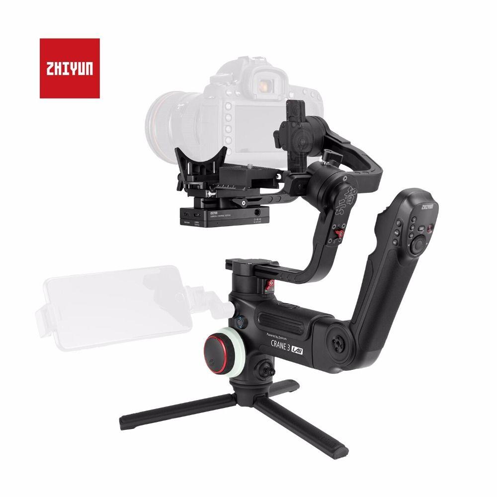 ZHIYUN Genuine Crane 3 LAB Camera Stabilizer 3-Axis Wireless FHD Image Transmission Handheld Gimbal for DSLR Mirrorless Cameras