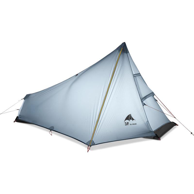 3F UL GEAR 740g Oudoor Ultralight Camping <font><b>Tent</b></font> 3 Season 1 Single Person Professional 15D Nylon Silicon Coating Rodless <font><b>Tent</b></font>