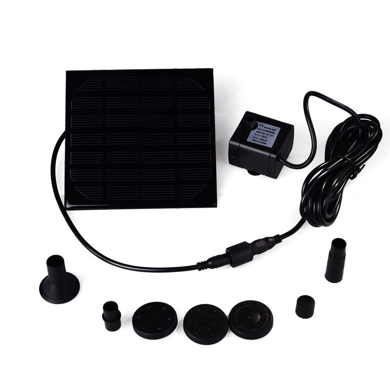 Hot Sale Water Pump Power Panel Kit Fountain Brushless DC Solar Pool Garden Watering Pumb Plants Water Power Fountain Pool