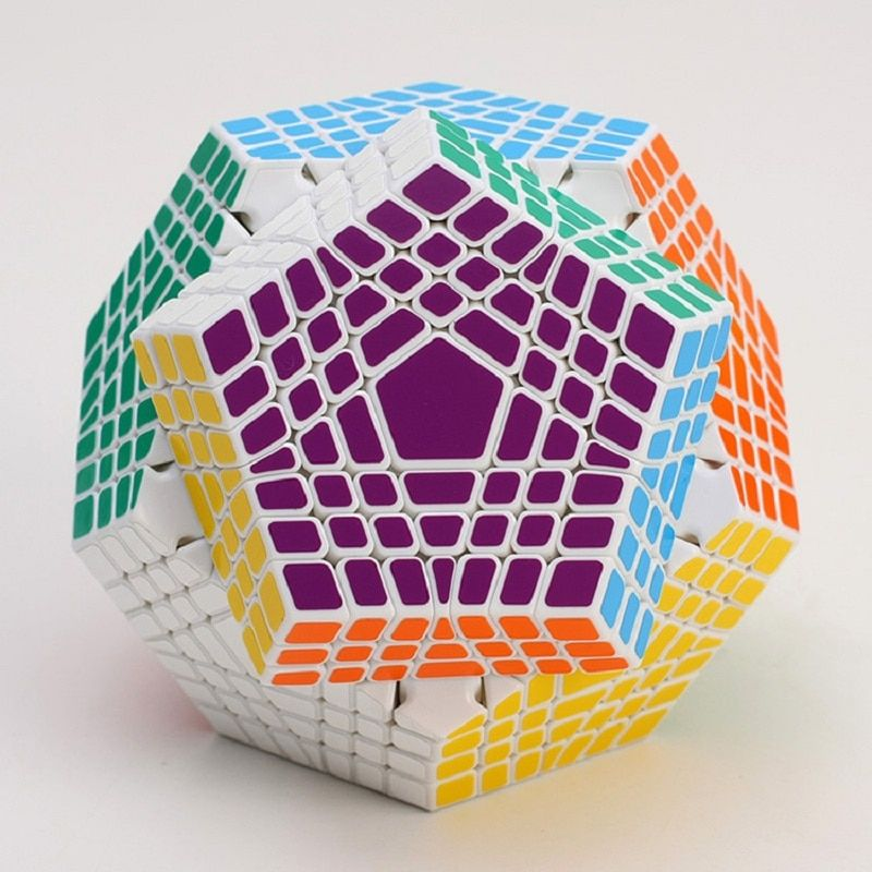 2017 New Shengshou Tegaminx Puzzle Cube Professional 7x7x7 PVC&Matte Stickers Cubo Puzzle Speed Classic Educational Toys