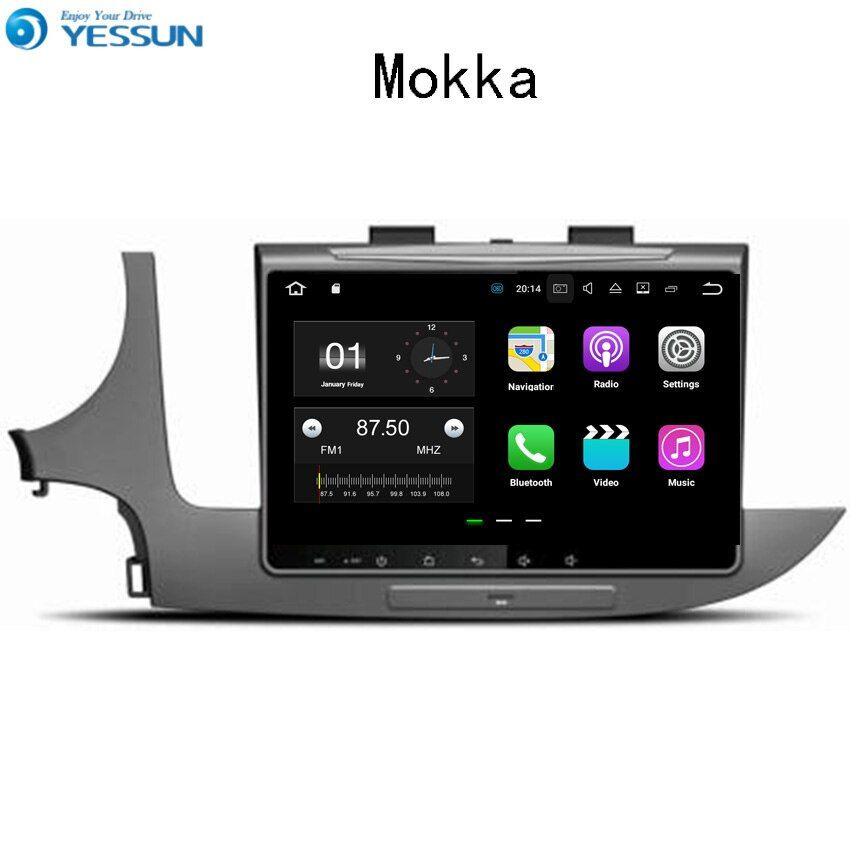 YESSUN Car Navigation GPS For Opel Mokka 2016~2017 Android Audio Video HD Touch Screen Stereo Multimedia Player No CD DVD