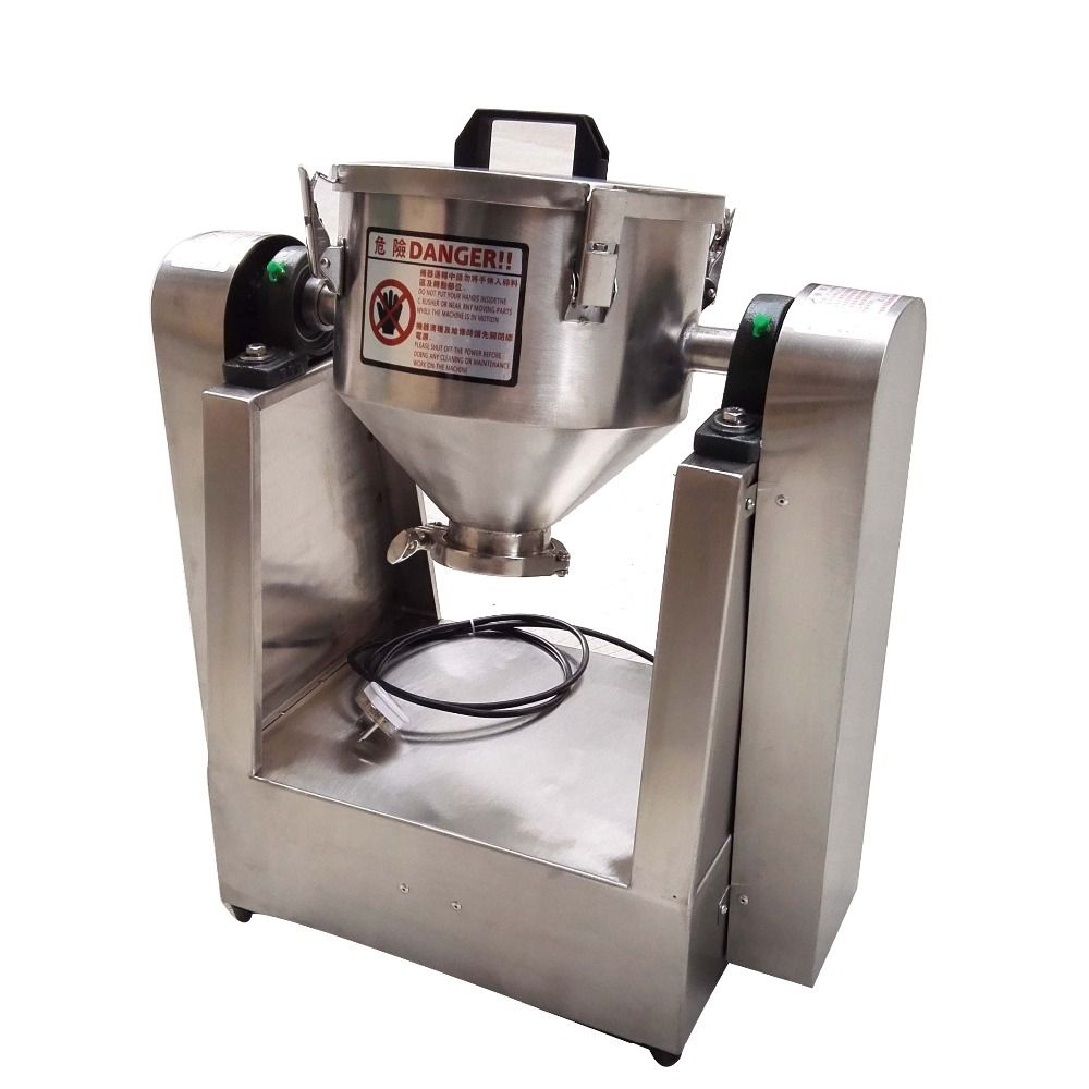 3 kg Einzigen Kegel Förmigen Dreh Chemische Trockenen Pulver Mischen Maschine Mixer Chemische Pulver Mischer Lebensmittel Additiv Mais Mixer