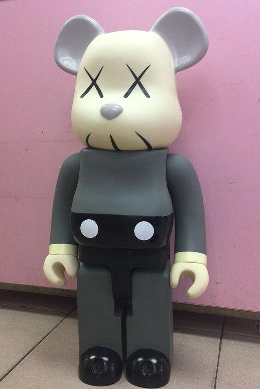 1000% 70cm kaws Milky Girl Mouse Cos Peko Fujiya bearbrick bear@brick PVC Action Figure Toy Art Work Great Gift for Friends