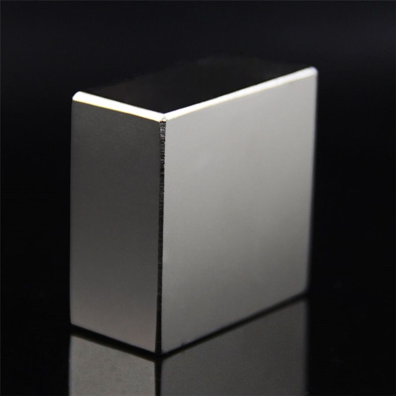 Super Powerful Strong N52 40x40x20mm Rare Earth Block NdFeB Magnet Neodymium N52 Magnets 40x40x20mm