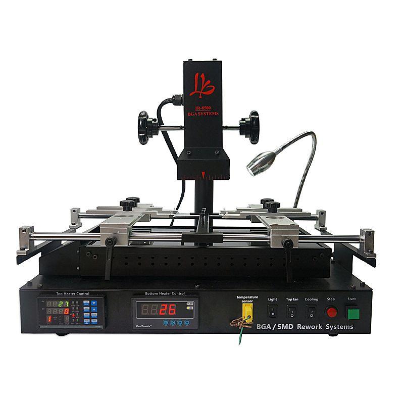 Original offizielle dunkle infrarot Bga rework station bga solder station LY IR8500 V.2 BGA station mit reball pack solder ball