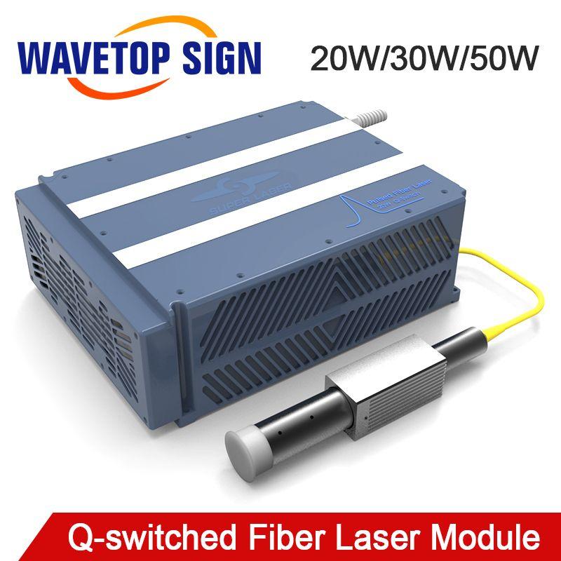 Q-switched Faser Laser Modul 20 W 30 W 50 W 100 w Impuls Breite Einstellbare Fiber Laser Modul 20 W MOPA-20W Gute Preis Gute Qualitty