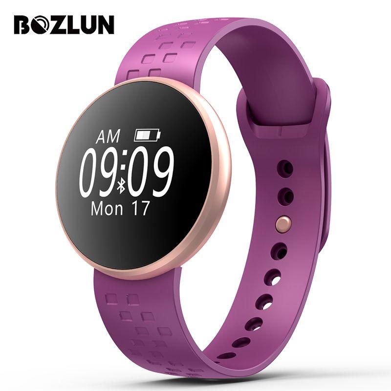 Bozlun Woman Smart Watch Women's Sport Bracelet SmartWatch Waterproof Heart Rate Monitor Bluetooth Message Reminder Wrist Watch