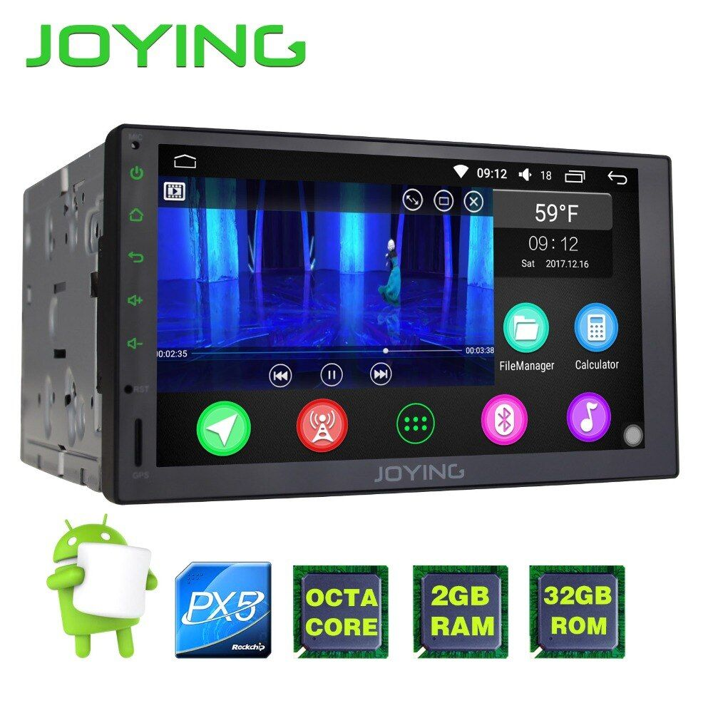 JOYING upgrade PX5 Octa 8 Core Android 6.0 Universal Autoradio 7 ''doppel-din 2G + 32G Autoradio-player Stereo GPS Navigation