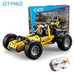OTPRO 522pcs Compatible With Legoing RC Tracked Racer Car Set Kids Toys  Building Blocks Bricks RC Car Kid Gift