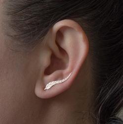 Shuangshuo Nouvelle Feuille Boucles D'oreilles Or Plume Boucles D'oreilles pour les Femmes Accessoires Cadeaux Usine Boucles D'oreilles Mode Jewelryboucle d'oreille