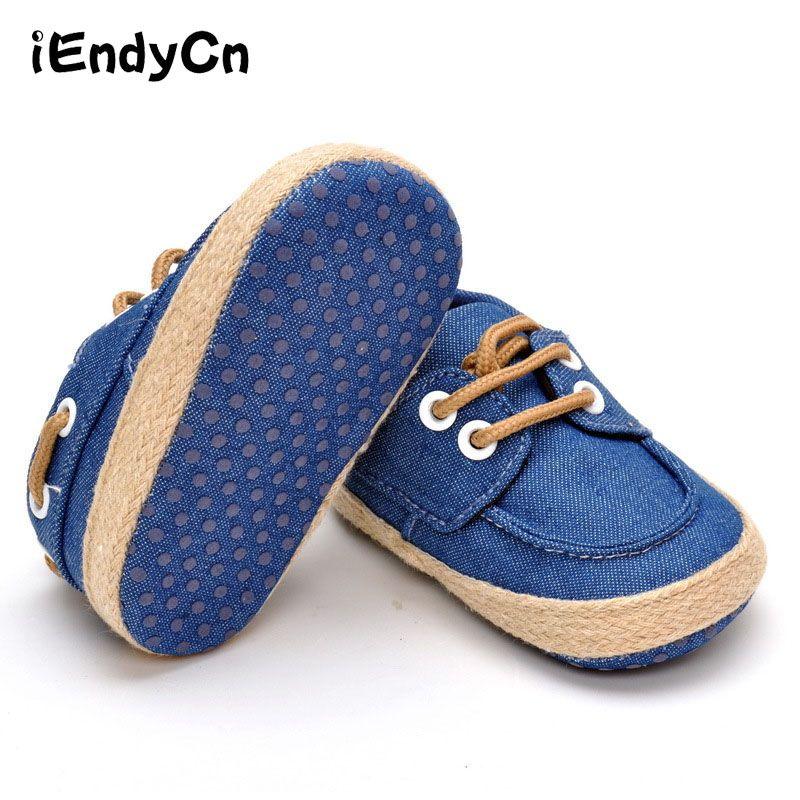 Kidadndy Bébé chaussures pour garçon Bébé Mocassins Chaussures Bébé Mocassins Tout-petits Simples chaussures de nouveau-né 0 Et 1 Ans A16LL2R