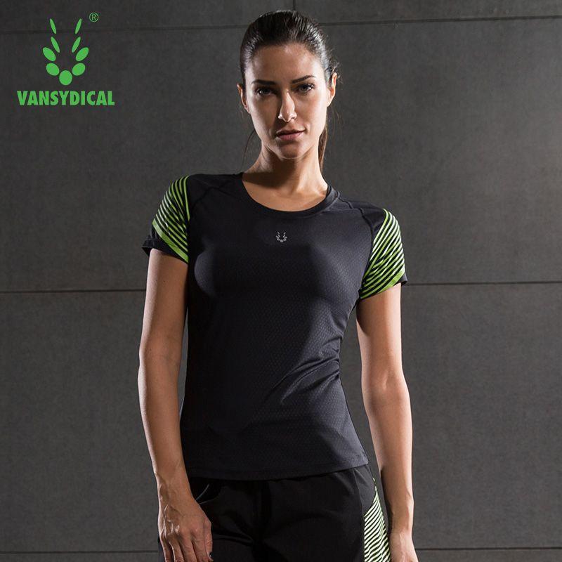 2016 de las mujeres camisas de manga corta medias de compresión correr fitness yoga tops ciclismo cinco colores de secado rápido breathbale camisetas