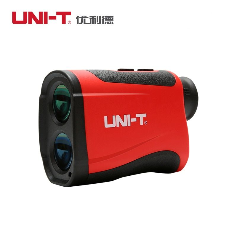 UNI-T LM600 Telescope Laser Distance Meter Laser Rangefinder Range Finder Telescope Measured Measuring speed angle hunting Golf