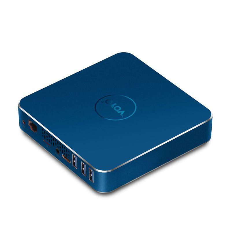VMac Mini PC with Apollo N3450 Original Licence Windows10 Pocket PC Intel N3450 4GB DDR3L RAM 64GB SSD USB3.0 4K HD Output