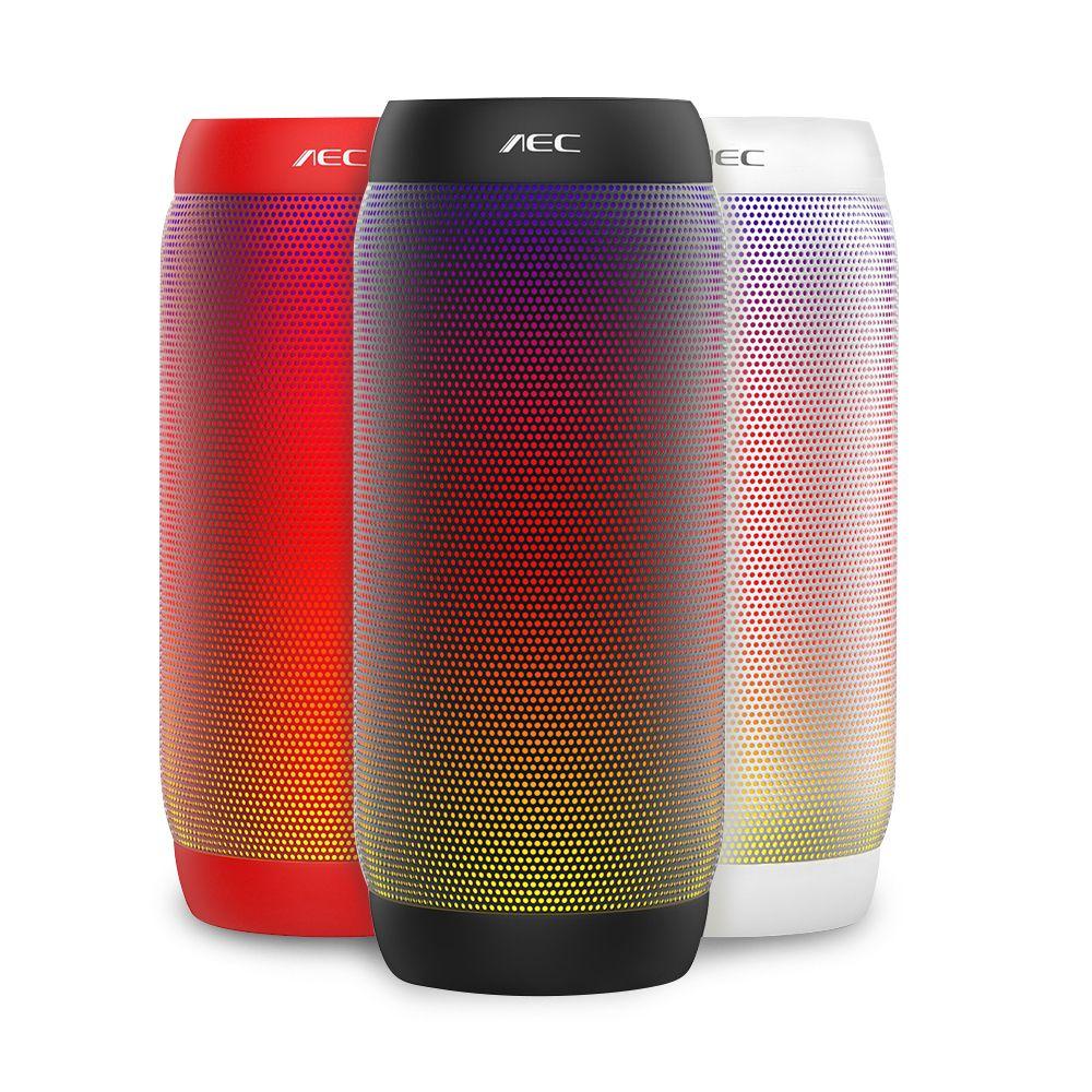 AEC Verbesserte Version 615 S LED Licht Drahtlose Tragbare Bluetooth-lautsprecher Outdoor Mini Fahrrad 10 Watt Bass Subwoofer für JBL Lautsprecher