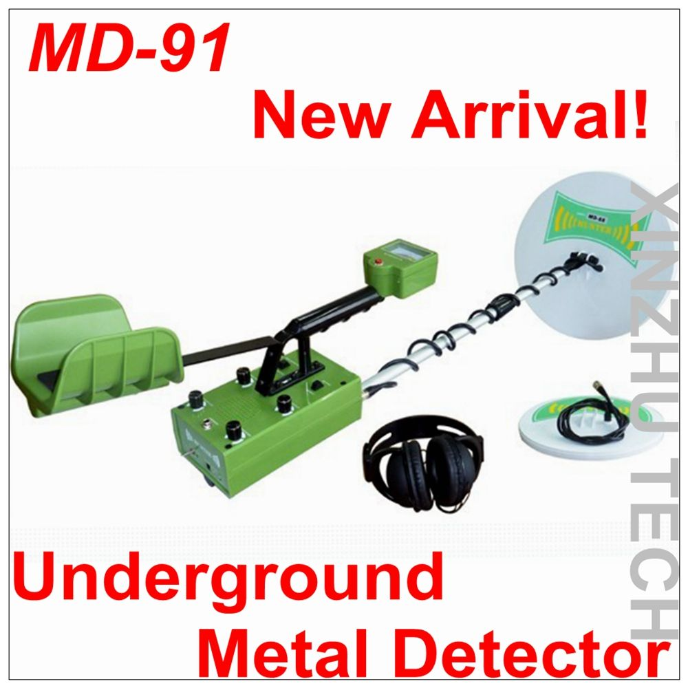 New Arrival MD-91 Metal Detector Professional Underground Gold Detector MD91 Treasure Hunter