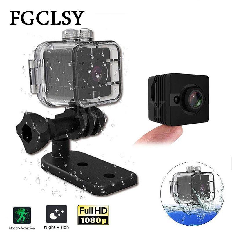 FGCLSY Mini Caméra SQ11 HD 1080 P Vision Nocturne Caméscope De Voiture DVR Infrarouge Vidéo Enregistreur SQ12 étanche Sport cam Caméra SQ 11