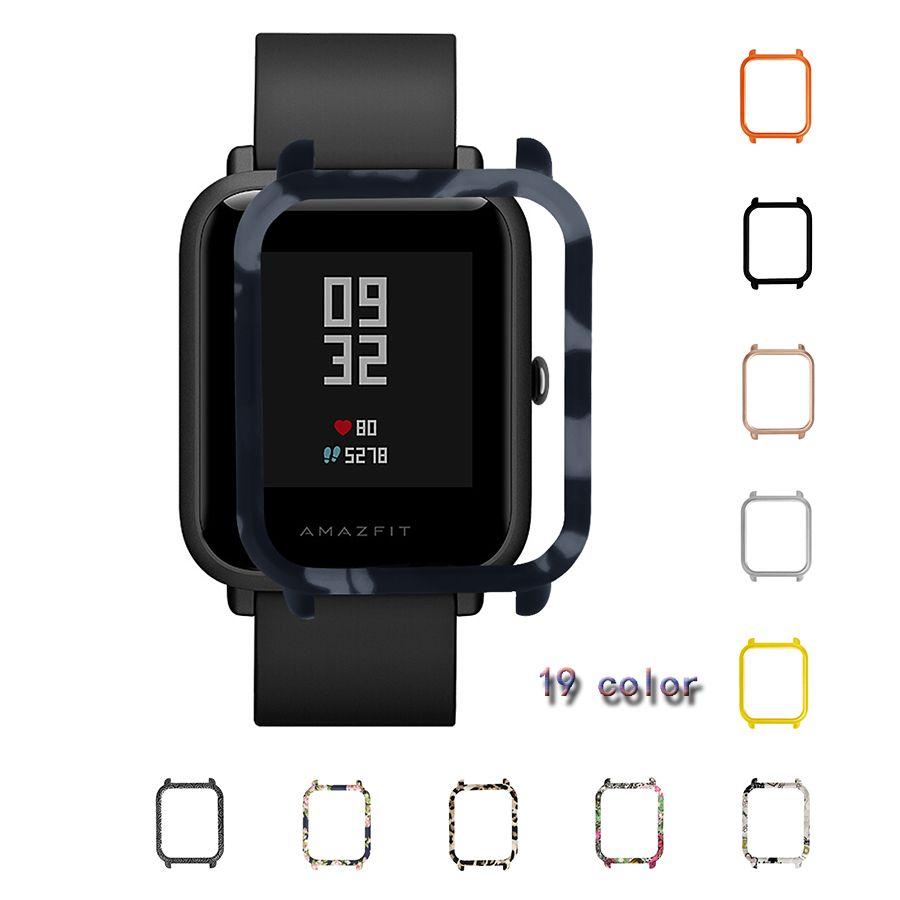LAOKE Fall für Xiaomi Huami Amazfit Bip Bit jugend Uhrengehäuse Ersetzt Abdeckung Schutzhülle für Amazfit Smart Uhr Zubehör