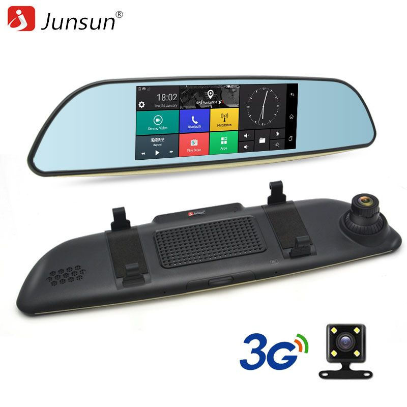 Junsun E515 3G Car DVRs Mirror 6.5
