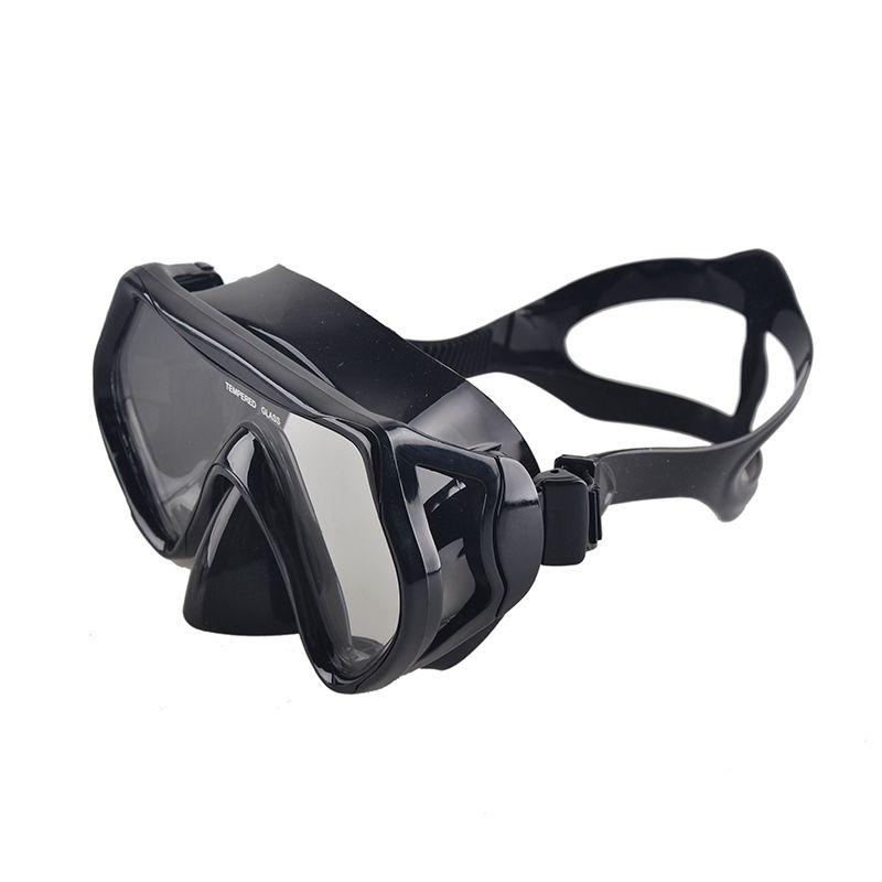 New Professional Scuba Fishing Pool Equipment Diving Mask Snorkel Anti-Fog Goggles Glasses Set Silicone fishing Eyewear 6 Color
