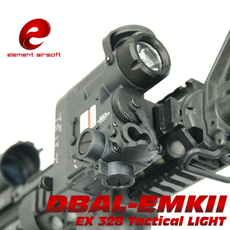 EX328 Element Airsoft Tactical Flashlight DBAL-D2 IR Laser and Led Torch DBAL-EMKII Multifunction Tactical IR Weapon Light