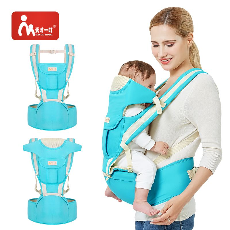 Kangaroo Baby Carrier Breathable Front And Back Newborn 4 In 1 Infant Comfortable Sling Backpack Pouch Wrap Baby For Newborn