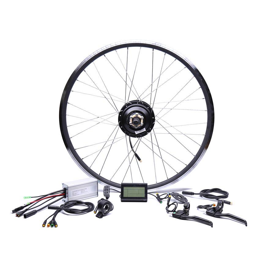 Waterproof 48v500w Bafang Cst Rear Cassette Electric Bike Conversion Kit Brushless Hub Motors 20'' 26'' 28''Motor Wheel