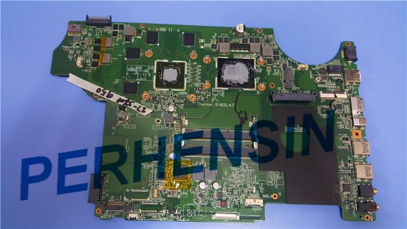 Original for MSI GE72 LAPTOP MOTHERBOARD MS-16J21 MS-1795 MS-17951 WITH I7-5700HQ CPU AND GTX950M 100% Work Perfectly