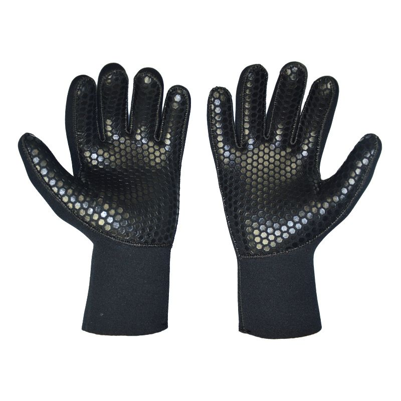 5mm Neoprene Diving Gloves for Spearfishing Underwater Hunting Fishing Swimmin Keep Warm Scuba Free Dive Gears Accessories <font><b>Kayak</b></font>